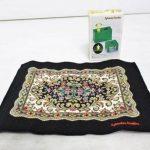 初期のロゴが使用されたシルバニアファミリーの絨毯を中古で高額買取