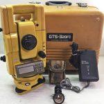 トプコンのトータルステーション(GTS-320FⅡ)を高額買取
