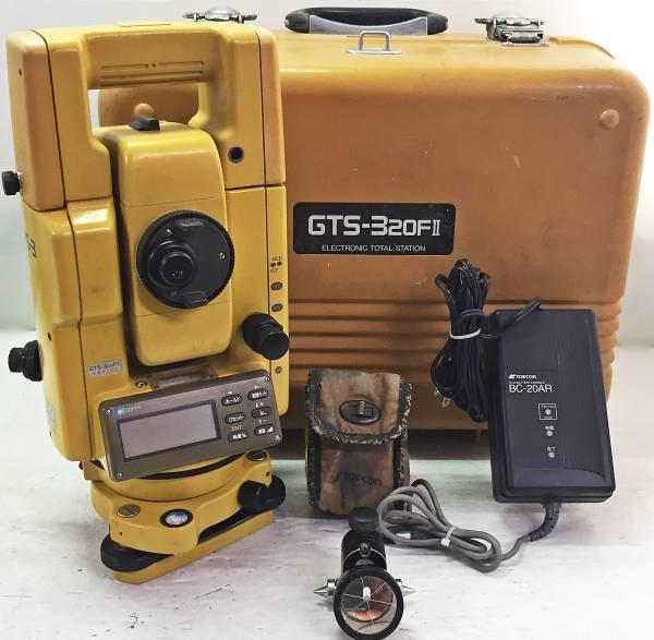 高額買取したトプコンのトータルステーション(GTS-320FⅡ)