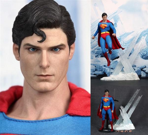 高額買取したホットトイズ製のスーパーマン(1/6スケール)のフィギュア